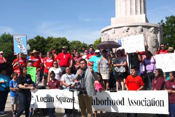 Logan Teachers Protest