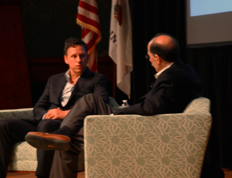 CONTROVERSIAL SILICON VALLEY VENTURE CAPITALIST SPEAKS AT CONFERENCE