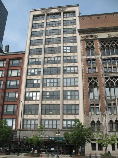 GAGE BUILDING BEEFS UP SECURITY