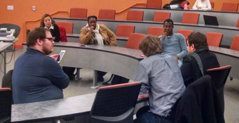 SGA DISCUSSES OUTREACH INITIATIVES