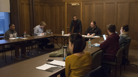 SGA HOLDS FIRST MEETING OF SPRING SEMESTER